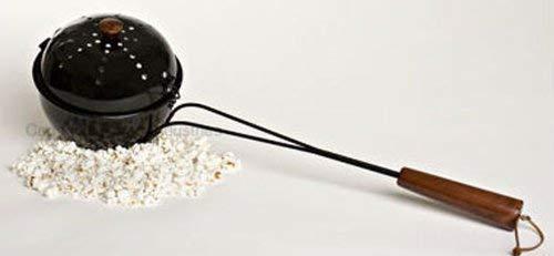 Cast Iron Popcorn Popper - BIG BOWL POPCORN POPPER 120-P
