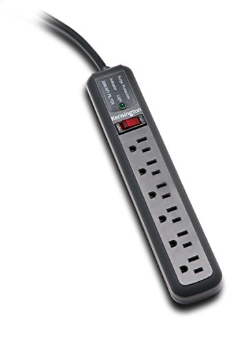 Kensington Guardian 6 Outlet, 15-Foot Cord, 540 Joules Premium Surge Protector (K38215NA) (Renewed) - Guardian Premium Surge Suppressor