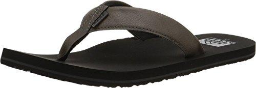 Reef Men's Twinpin Sandal, Grey, 10 M US ()