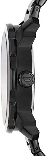 Diesel Men's Machinus Quartz Stainless Steel Three-Hand Watch, Color: Black (Model: DZ1737) WeeklyReviewer
