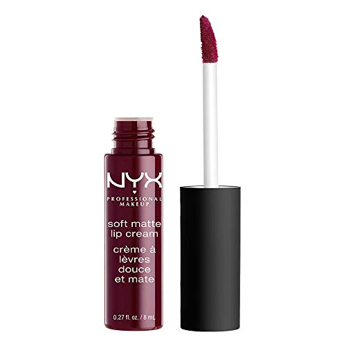 NYX Professional Makeup Soft Matte Lip Cream, High-Pigmented Cream Lipstick in Copenhagen