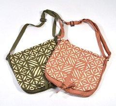Fair Trade Handmade Cutwork Messenger Bag