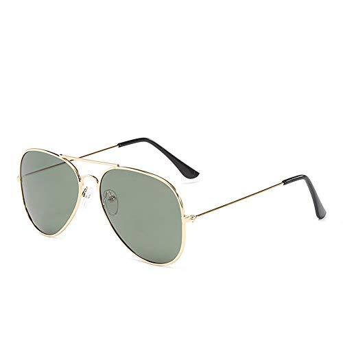 De Polarizadas Golden De ZYZHjy Gafas Oro oscuro verde Hombres Ceniza Sol wqWSP1EAI