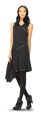 ne high twist jersey dress with rubberized details (Twist Detail Jersey Dress)