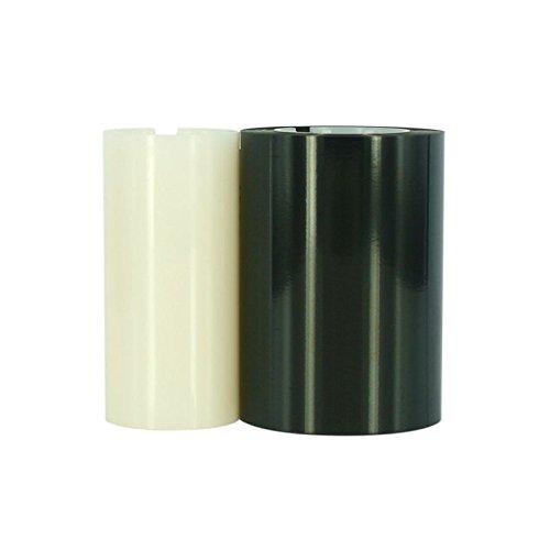 Color Ribbon for Zebra P300 P310 P320 Printers 800015-101K (White Shaft) ()