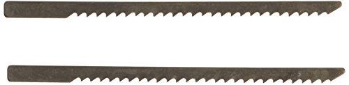 (PROXXON 28054 Jigsaw blades in Special Steel, Black, 2 Piece)