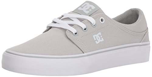 DC Women's Trase TX Skate Shoe, Grey Ash, 7.5 B B US