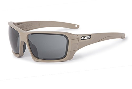 ESS Rollbar Sunglasses Terrain Rapid ESS Lens Lens Smoke Tan Gray Clear by Exchange UqZUWH