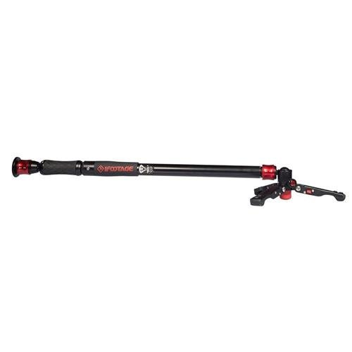 iFootage Cobra 2 Strike A150S 3 Section Aluminum Alloy Telescopic Monopod with Stand, 17.6 lbs Capacity, 59'' Maximum Height by IFOOTAGE (Image #2)