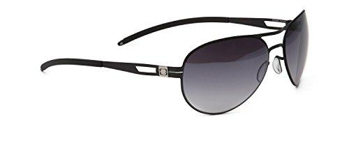 GUNNAR Gaming and Computer Eyewear/Titan Sunglasses - Patented Lens, Reduce Digital Eye Strain, Block 90% of Harmful Blue Light, 100% ()