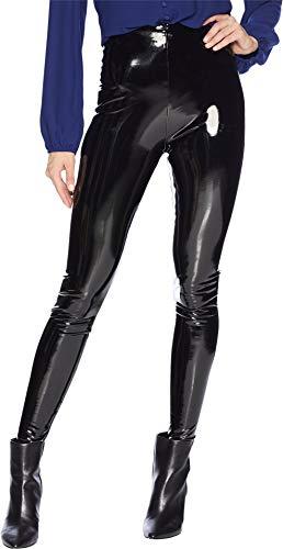 - commando Women's Faux Patent Leather Perfect Control Leggings, Black, Large