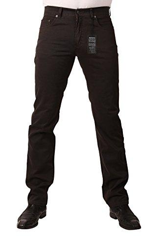 PIONEER Stretch Gabardine-Jeans RON 1144-3881-48 Braun: Weite: W35   Länge: L34