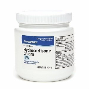 Perrigo Hydrocortisone Cream 1% Maximum Strength Anti-Itch Cream, 1 lb by Perrigo