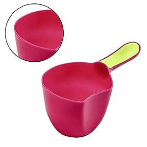 Bath Cap Bathing Scoop Plastic Water Scoop Baby Shampoo Bath Spoon Child Wash Hair Rinse Cup Bath Waterfall Rinser Mini…