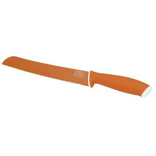 Chicago Cutlery Vivid 8-Inch/20.3cm Bread Knife, Orange