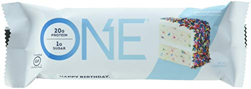 ONE Protein Bar, Birthday Cake, 4 Count