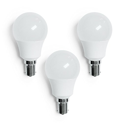 ECO-LED F1156-WWM3 Warm White Frosted Vanity LED Bulb 3 ()