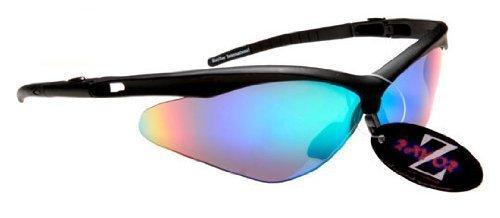Rayzor Professional Lightweight Black UV400 Sports Wrap Cycling Sunglasses, W...