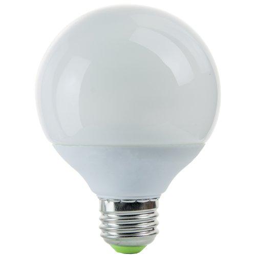 Sunlite SLG14/E/27K G25 Globe 14-Watt Energy Star Certified CFL Light Bulb Medium Base, Warm White