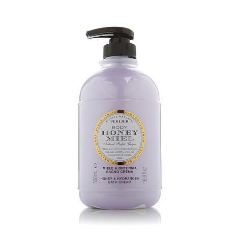 Perlier Honey Hydrangea Bath Cream 16.9 fl. oz.