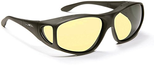 Fit-Over Night Drivers - XL Tapered Square (137mm wide x 41mm - Vs Glasses Lenses
