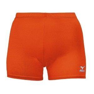 Mizuno Vortex Volleyball Short - Color: ORANGE - Size: Small [Apparel] - Mizuno Athletic Wear