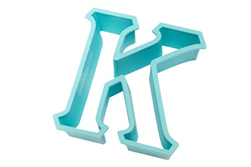 Live Greek-Greek Letter Shaped Cookie Cutter-KAPPA Shape-Measures 3 Inches Long x 2.75 Inches Wide-Great Gift, Big Sis/Lil Sis, Fundraising, Parties, Sororities, Fraternities,Panhellenic,Art Stencil