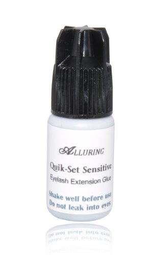 Quik-Set Sensitive Glue (3ml) Eyelash Extension Adhesive Fast Drying Time