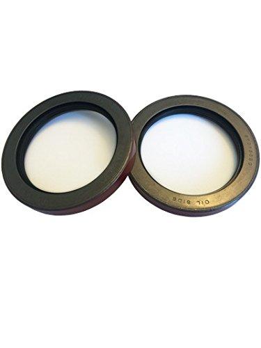 (Pack of 2) Westernprime Trailer Hub Wheel Unitized Oil Seals 10-51 (370150BGO) for 9K-10K GD Axles ID 2.875'' x OD (Wheel Hub Oil)