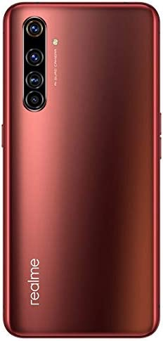 Original Real me X50 Pro 5G 12G+256GB MobilePhone Global ROM 64MP 90Hz 6.44'Super AMOLED Snapdragon 865 Octa Core 65WCharger Android10 20x Zoom NFC 4200mAh Support Google-by (CTM Global Store) (Red)