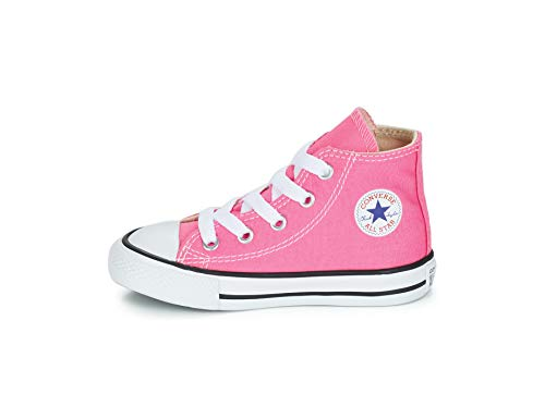 Converse Chuck Taylor All Star High Top Infant Shoes Pink 7j234 (8 M -