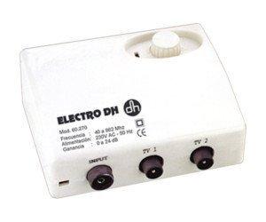 Amplificador de antena TV Electro DH 60.270 8430552052455: Amazon.es: Electrónica
