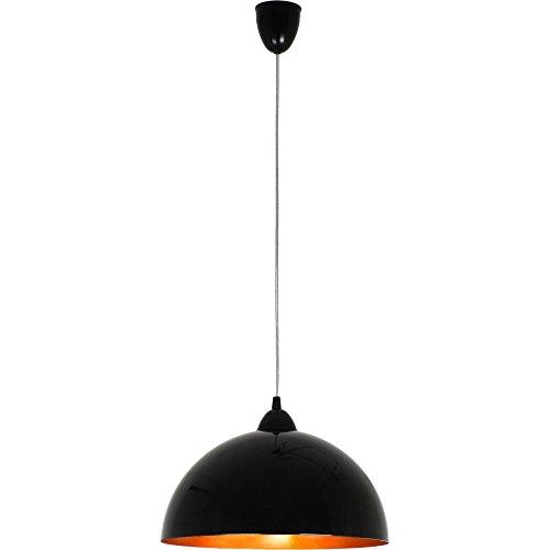 HEMISPHERE noir-or S Modern Design Lustres Lustre Lampes suspendues Lampes de Plafond