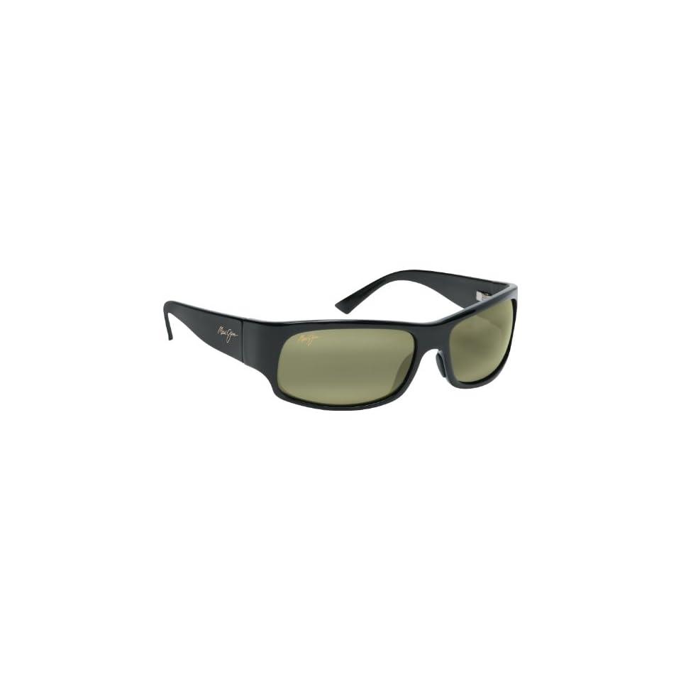 Maui Jim Longboard 222 Sunglasses, Blk/High Trans. Lens, Sunglasses