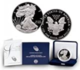 #10: 2015 W American Silver Eagle With Velvet Box & COA $1 Proof US Mint