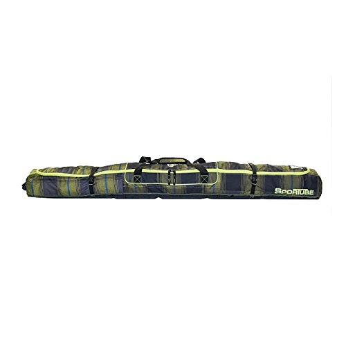 Sportube Traveler Ski Bag, Plaid by Sportube