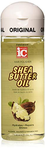 Fantasia Ic Hair Polisher 6oz Shea Butter Oil (2 Pack)