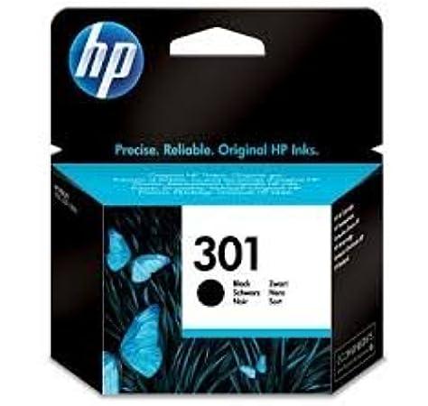 HP 301 - Cartucho de Tinta Original HP 301 Negro para HP DeskJet, HP OfficeJet y HP Envy: Amazon.es: Electrónica