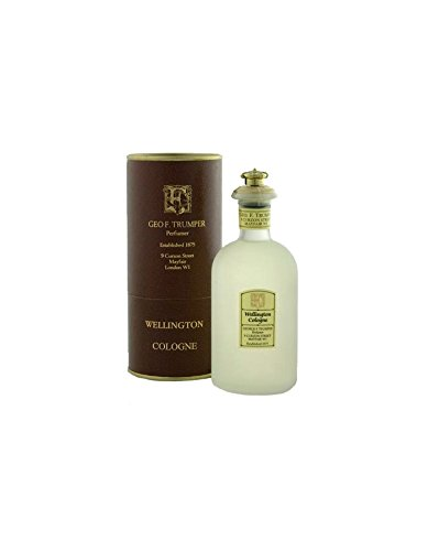Geo F. Trumper Wellington Cologne 100ml (glass crown-topped bottle)