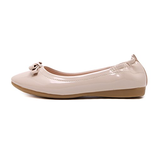 Ballerinas Slip Dolly fereshte Work Damen Bequemer Pumps On 632Apricot Schuhe Damen School aCqqOUxzw