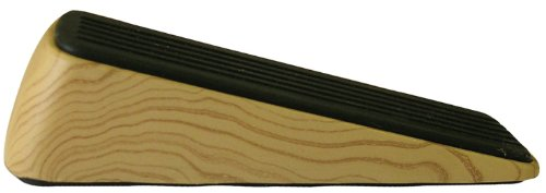 (Shepherd Hardware 9333 Designer Door Wedge, Woodgrain, Non-Skid Rubber Base Grip)