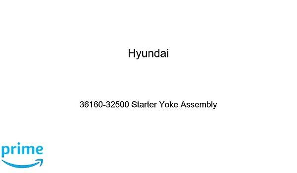 Genuine Hyundai 36160-32500 Starter Yoke Assembly
