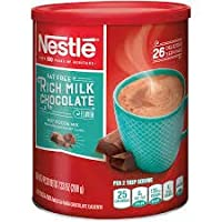 NESTLE Fat Free Rich Milk Chocolate Hot Cocoa Mix, Hot Chocolate Made with Real...