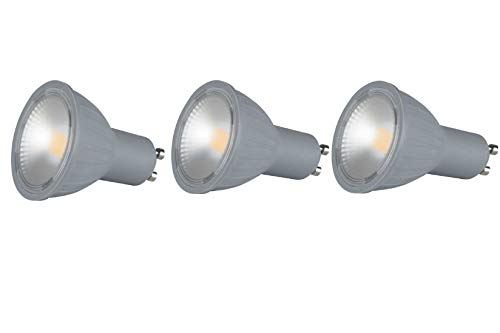 lexman - Bombilla LED GU10 6 W blanco cálido 2700 K, Lot de 3, GU10 230.00volts: Amazon.es: Iluminación