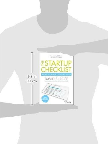 The Startup Checklist - size