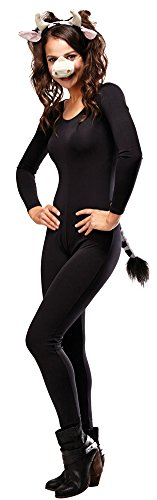 Cow Costumes Kit (Womens Halloween Costume- Cow Adult Costume Accessory Kit)