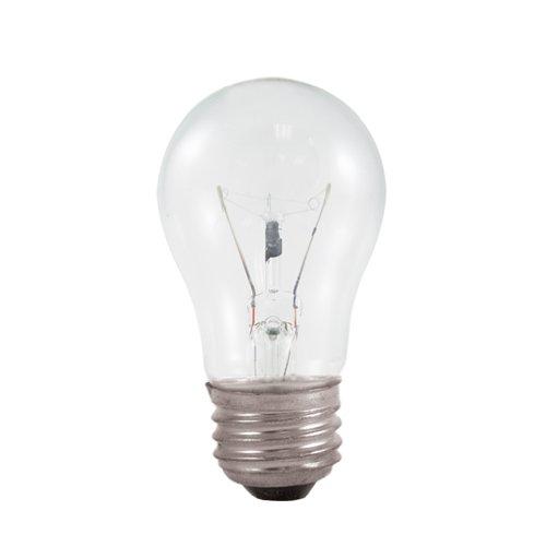 Light 25w Brite (Bulbrite 25A15C 25-Watt Incandescent Standard A15, Medium Base, Clear)
