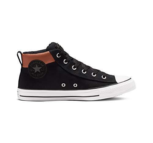 Converse Men's Chuck Taylor All Star Street Space Explorer Sneaker, Black/Warm Tan/White, 13 M US (Converse Chuck Taylor All Star Mens Street Sneakers)