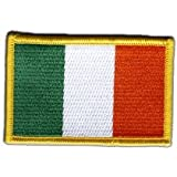 Écusson brodé Flag Patch Irlande - 8 x 6 cm