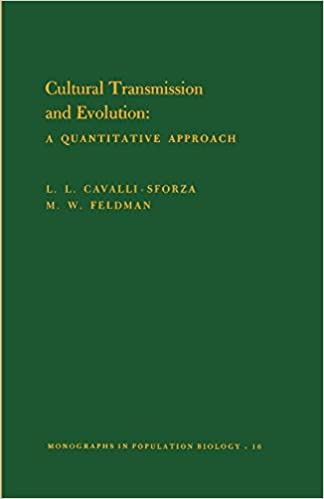 Cultural Transmission and Evolution: A Quantitative Approach. (MPB-16) (Monographs in Population Biology)